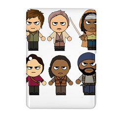 The Walking Dead   Main Characters Chibi   Amc Walking Dead   Manga Dead Samsung Galaxy Tab 2 (10 1 ) P5100 Hardshell Case