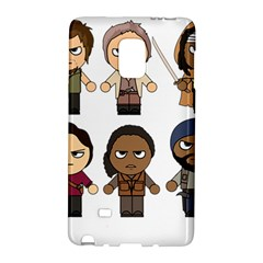 The Walking Dead   Main Characters Chibi   Amc Walking Dead   Manga Dead Galaxy Note Edge