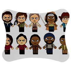 The Walking Dead   Main Characters Chibi   Amc Walking Dead   Manga Dead Jigsaw Puzzle Photo Stand (Bow)