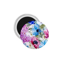 Watercolor Spring Flowers 1 75  Magnets