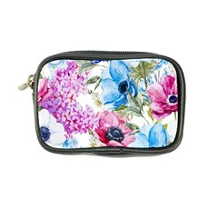 Watercolor Spring Flowers Coin Purse
