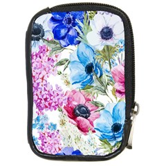 Watercolor Spring Flowers Compact Camera Cases