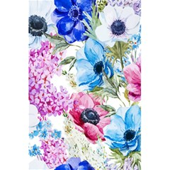 Watercolor spring flowers 5.5  x 8.5  Notebooks
