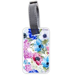 Watercolor Spring Flowers Luggage Tags (two Sides)
