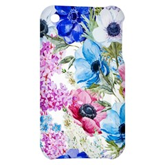 Watercolor spring flowers Apple iPhone 3G/3GS Hardshell Case