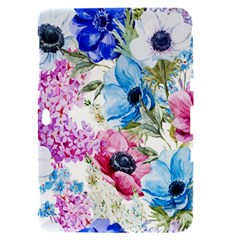 Watercolor spring flowers Samsung Galaxy Tab 8.9  P7300 Hardshell Case