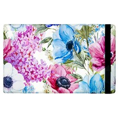 Watercolor Spring Flowers Apple Ipad 2 Flip Case