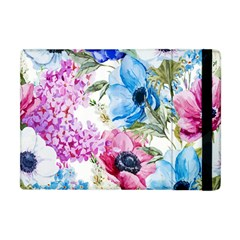Watercolor Spring Flowers Apple Ipad Mini Flip Case