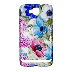Watercolor spring flowers Samsung Ativ S i8750 Hardshell Case