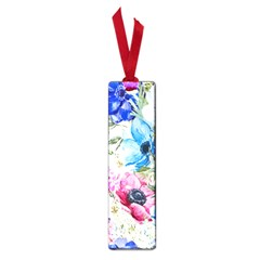 Watercolor spring flowers Small Book Marks