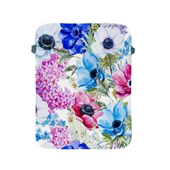 Watercolor spring flowers Apple iPad 2/3/4 Protective Soft Cases