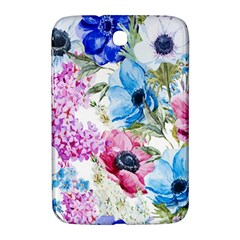 Watercolor spring flowers Samsung Galaxy Note 8.0 N5100 Hardshell Case