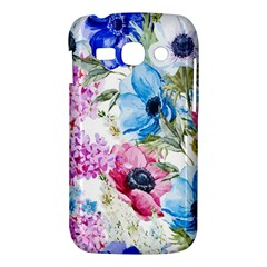 Watercolor spring flowers Samsung Galaxy Ace 3 S7272 Hardshell Case
