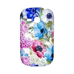 Watercolor spring flowers Samsung Galaxy S6810 Hardshell Case