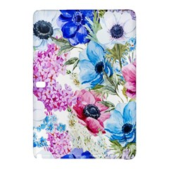 Watercolor spring flowers Samsung Galaxy Tab Pro 10.1 Hardshell Case