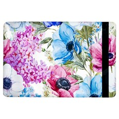 Watercolor spring flowers iPad Air Flip
