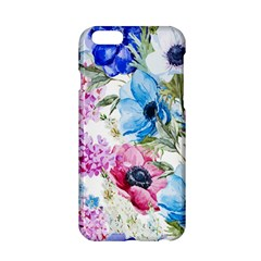Watercolor spring flowers Apple iPhone 6/6S Hardshell Case