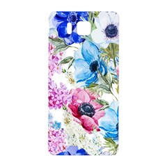 Watercolor Spring Flowers Samsung Galaxy Alpha Hardshell Back Case