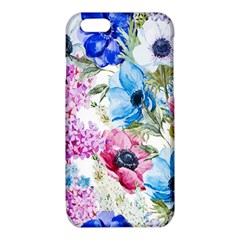 Watercolor spring flowers iPhone 6/6S TPU Case