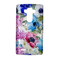 Watercolor spring flowers LG G4 Hardshell Case