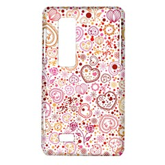 Ornamental pattern with hearts and flowers  LG Optimus Thrill 4G P925