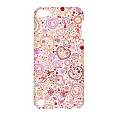 Ornamental pattern with hearts and flowers  Apple iPod Touch 5 Hardshell Case