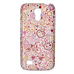Ornamental pattern with hearts and flowers  Galaxy S4 Mini