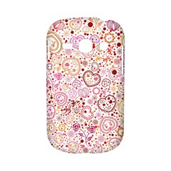 Ornamental pattern with hearts and flowers  Samsung Galaxy S6810 Hardshell Case