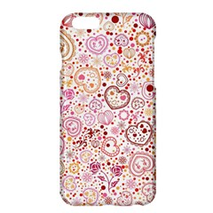 Ornamental Pattern With Hearts And Flowers  Apple Iphone 6 Plus/6s Plus Hardshell Case