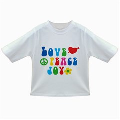 Love Peace Joy Infant/toddler T Shirts