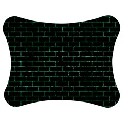 Brick1 Black Marble & Green Marble Jigsaw Puzzle Photo Stand (bow)