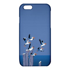 abstract Pelicans seascape tropical pop art  iPhone 6/6S TPU Case