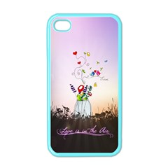 Love Is In The Air illustration Apple iPhone 4 Case (Color)
