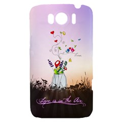 Love Is In The Air illustration HTC Sensation XL Hardshell Case