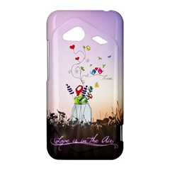 Love Is In The Air illustration HTC Droid Incredible 4G LTE Hardshell Case
