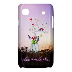 Love Is In The Air illustration Samsung Galaxy SL i9003 Hardshell Case