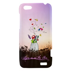 Love Is In The Air illustration HTC One V Hardshell Case