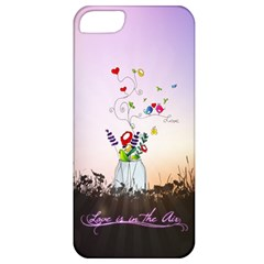 Love Is In The Air illustration Apple iPhone 5 Classic Hardshell Case