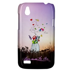 Love Is In The Air illustration HTC Desire V (T328W) Hardshell Case