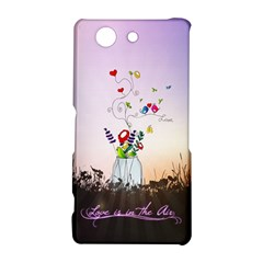Love Is In The Air illustration Sony Xperia Z3 Compact
