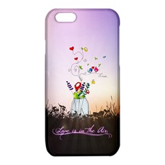 Love Is In The Air illustration iPhone 6/6S TPU Case