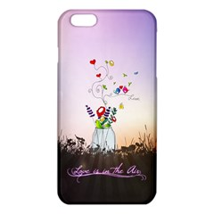 Love Is In The Air illustration iPhone 6 Plus/6S Plus TPU Case