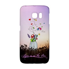 Love Is In The Air illustration Galaxy S6 Edge