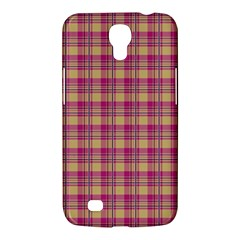 Pink Plaid Pattern Samsung Galaxy Mega 6.3  I9200 Hardshell Case