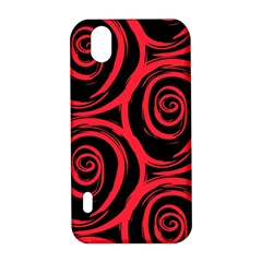 Abtract  Red Roses Pattern LG Optimus P970