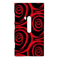 Abtract  Red Roses Pattern Nokia Lumia 920
