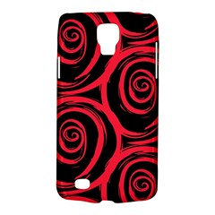 Abtract  Red Roses Pattern Galaxy S4 Active