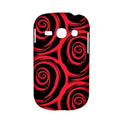 Abtract  Red Roses Pattern Samsung Galaxy S6810 Hardshell Case