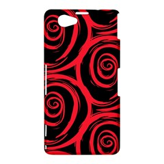 Abtract  Red Roses Pattern Sony Xperia Z1 Compact