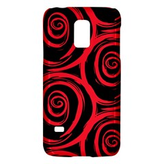 Abtract  Red Roses Pattern Galaxy S5 Mini